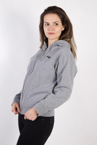Vintage Fila Tracksuits Top Shell Sportlife Style M Grey -SW2236-105724