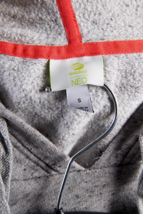 Vintage Adidas Tracksuits Top Hoodies S Grey -SW2245-105783
