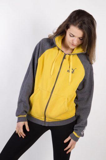 Puma Track Top Hoodie Yellow M