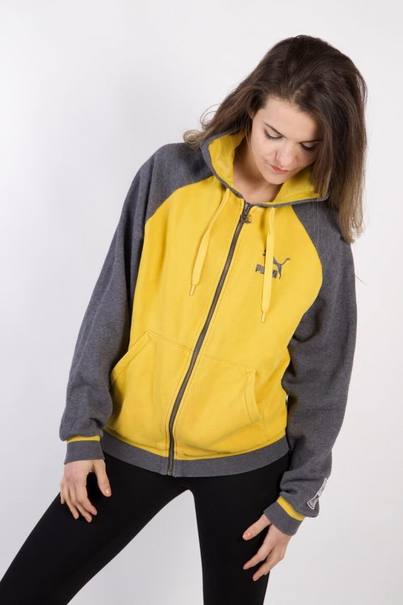 Vintage Puma Tracksuits Top Sportlife Style M Yellow -SW2251-0
