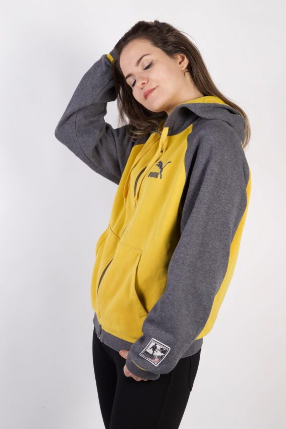 Vintage Puma Tracksuits Top Sportlife Style M Yellow -SW2251-105799