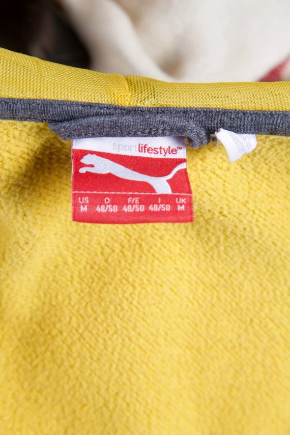 Vintage Puma Tracksuits Top Sportlife Style M Yellow -SW2251-105801