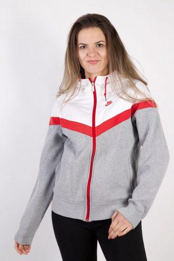Nike Track Top Hoodie Grey M