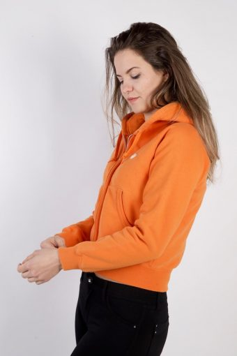 Vintage Adidas Tracksuits Top Shell Hoodies XS Orange -SW2258-105820