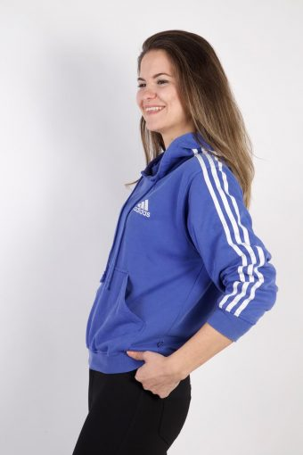 Vintage Adidas Tracksuits Top Shell Hoodies S Blue -SW2264-105838