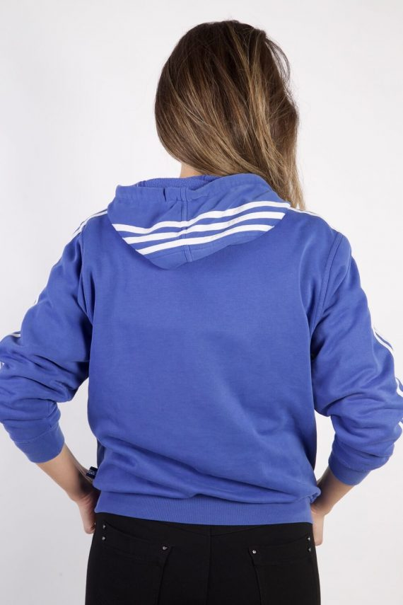 Vintage Adidas Tracksuits Top Shell Hoodies S Blue -SW2264-105839