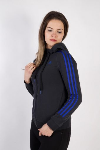 Adidas Vintage Tracksuits Top Sportlife Style S Black -SW2282-105933