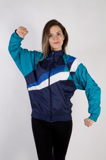 Adidas Shell Track Top High Neck 80s L