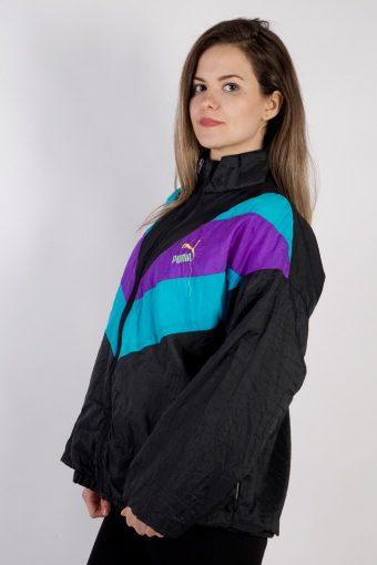 Vintage Puma Tracksuits Top Sportswear XL Navy -SW2303-106005