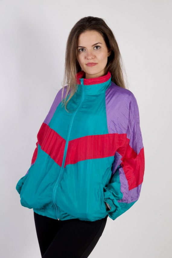 Vintage Unbranded Tracksuits Top Shell Sweatshirt XL Multi -SW2316-0