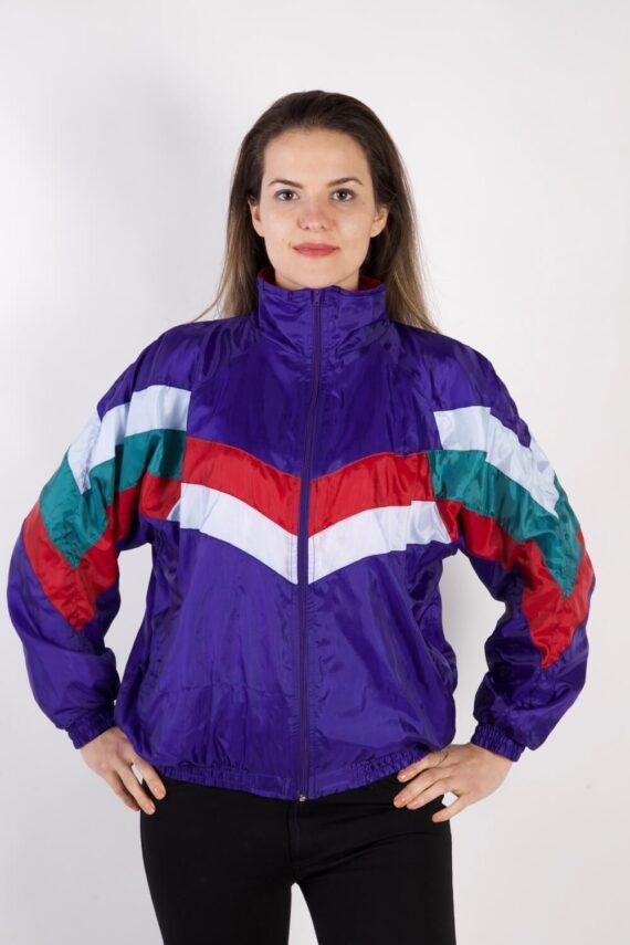 Model Vintage Tracksuits Top Sportswear L Purple -SW2320-0