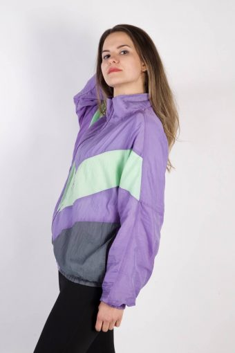 Model Vintage Tracksuits Top Shell Sportlife Style XL Lilac -SW2322-106107