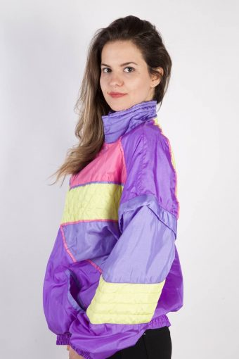 Open Space Vintage Tracksuits Top Shell Sportlife Style L Lilac -SW2323-106111