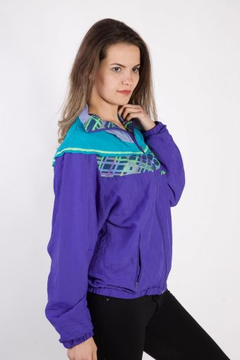 Vintage Lotto Tracksuits Top Sportlife Style M Purple -SW2325-106119