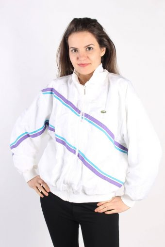 Lacoste Track Top Shell Sportswear White L