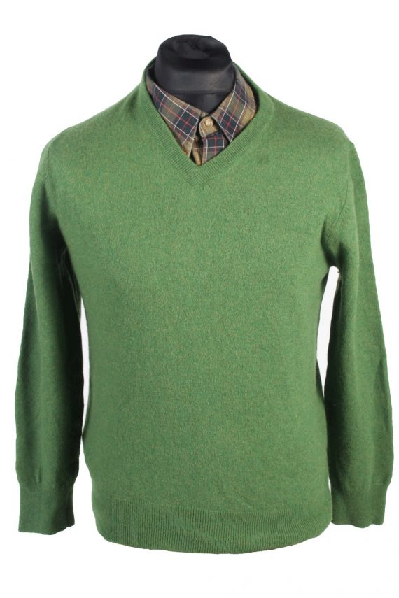 Vintage Howick Jumper Casual Pullover S Green -IL1654-0