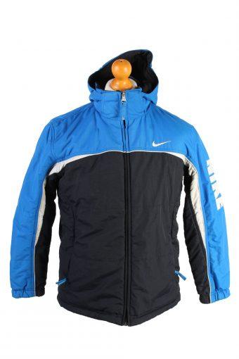 Vintage Reversible Padded Jacket Nike L Blue
