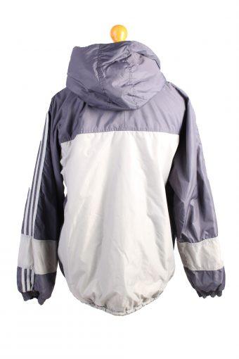 Vintage Adidas Reversible Puffer Coat M Grey -C1475-106873