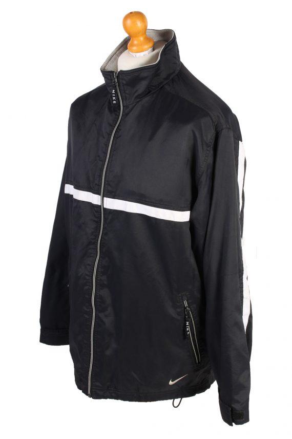 Vintage Air Sport Puffer Coat Nike M Black -C1477-106881