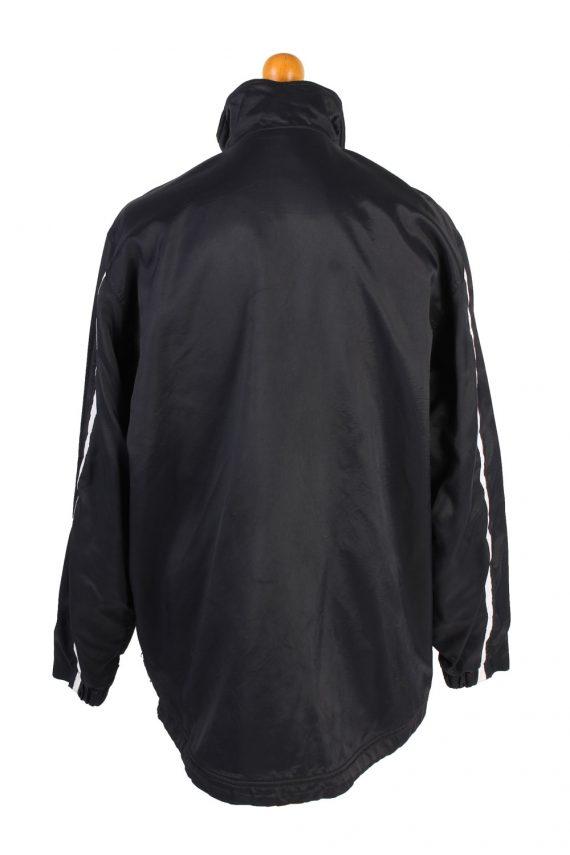 Vintage Air Sport Puffer Coat Nike M Black -C1477-106882