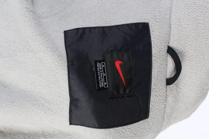 Vintage Air Sport Puffer Coat Nike M Black -C1477-106927