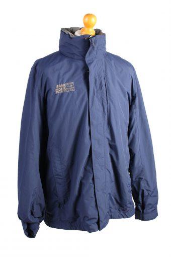 Vintage LL. Bean Athletic Puffer Coat L Navy -C1488-106914