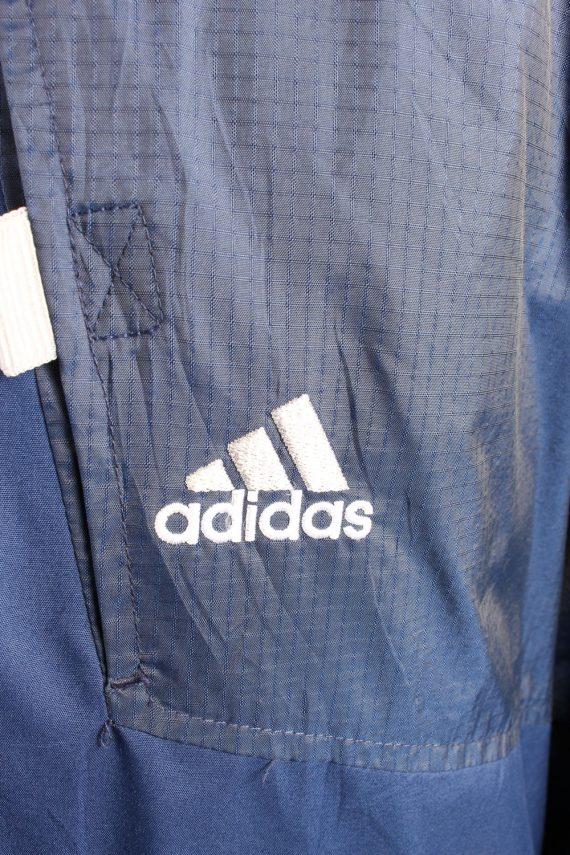 Vintage Puffer Jacket Puffer Coat Adidas XXL Blue -C1489-106932