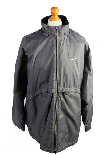 Vintage Nike Puffer Jacket Padded Jacket XL Grey