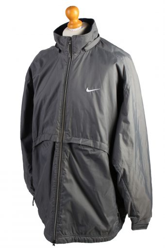 Vintage Nike Puffer Jacket Padded Jacket XL Grey -C1494-106945