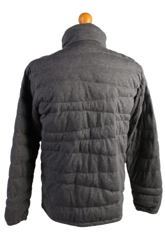 Vintage Champion Puffer Jacket Puffer Coat L Grey -C1495-107025