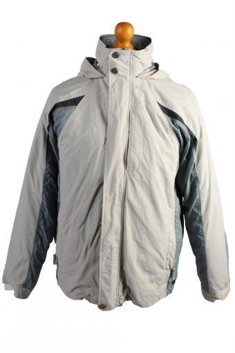 Vintage Champion Puffer Jacket Puffer Coat M Creem