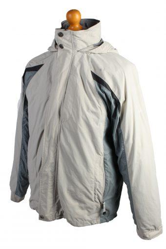 Vintage Champion Puffer Jacket Puffer Coat M Creem -C1501-107002