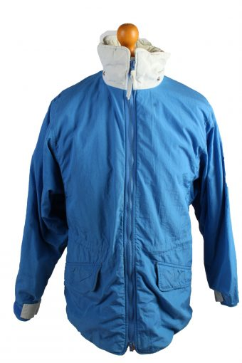 Vintage The Woolnich Puffer Jacket Puffer Coat XL Blue