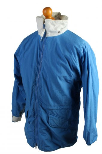 Vintage The Woolnich Puffer Jacket Puffer Coat XL Blue -C1504-106954