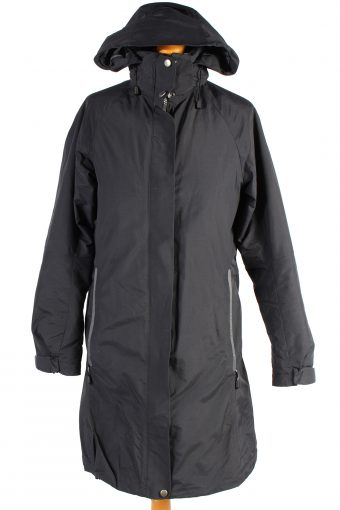 Vintage Tenson Puffer Jacket Padded Jacket L Black