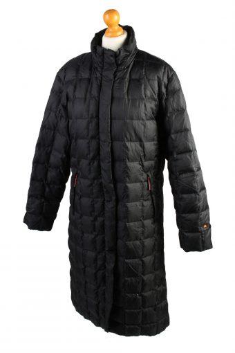 Vintage Ellesse Puffer Jacket Puffer Coat L Black -C1511-106972
