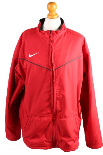 Vintage Nike Puffer Jacket Padded Jacket XL Red