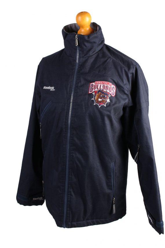 Vintage Reebok Puffer Jacket Puffer Coat XL Navy -C1515-106984