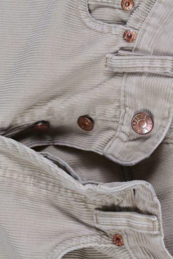 Vintage Diesel Regular Fit Corduroy Cord Jeans W25 L34 Beige J4117-107315