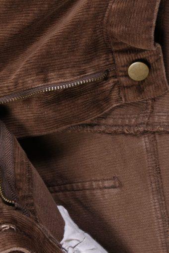Vintage Ronley Regular Fit Corduroy Cord Jeans 52 Brown J4147-107335