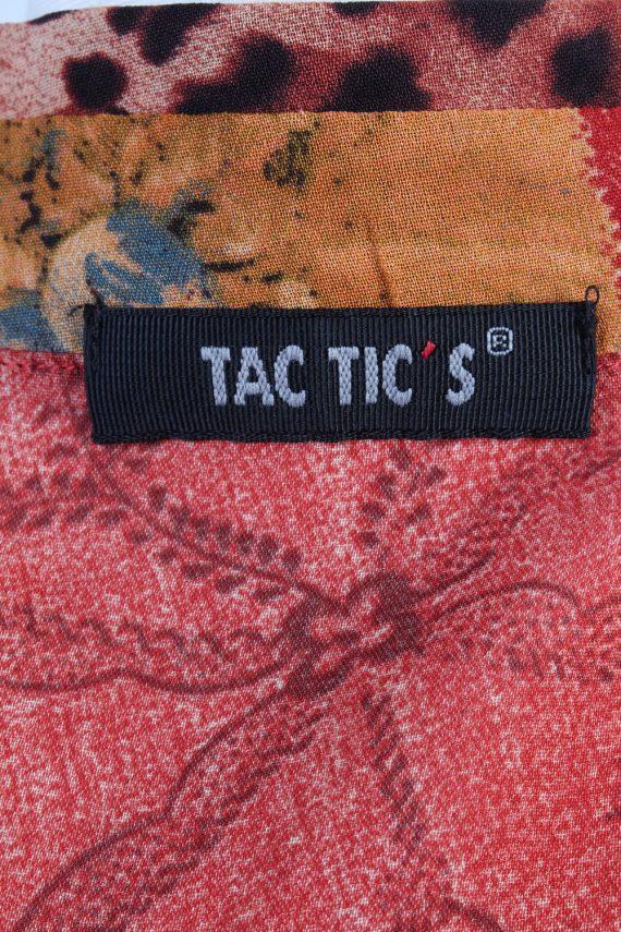 Vintage Tac Tic S Blouses Short Sleeve 38 Multi LB280-109705
