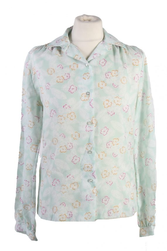 Vintage Long Sleeve Blouses Casual Multi Colour LB294-0