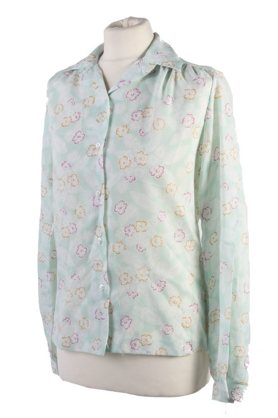 Vintage Long Sleeve Blouses Casual Multi Colour LB294-110010