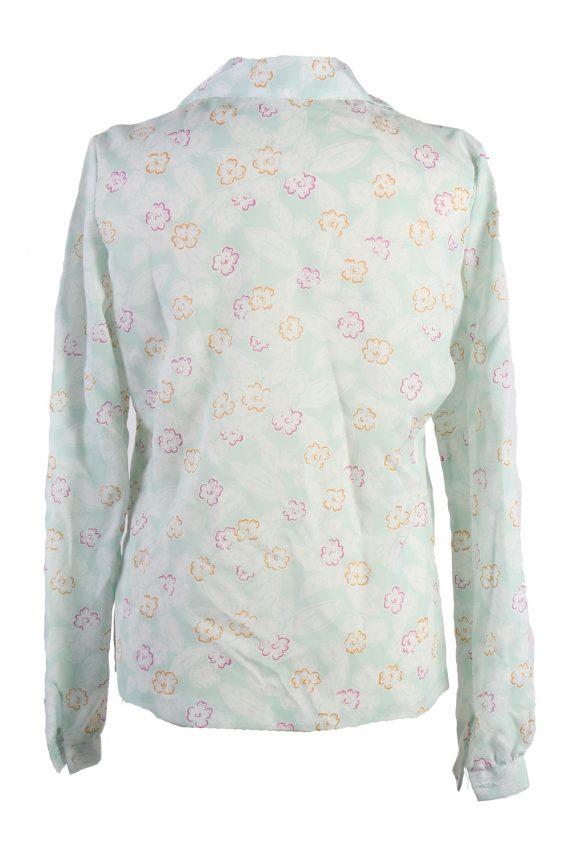 Vintage Long Sleeve Blouses Casual Multi Colour LB294-110011