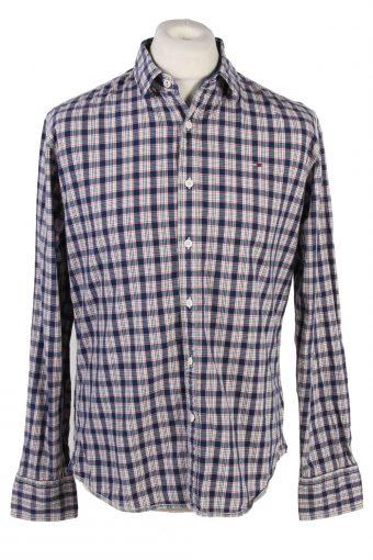 Tommy Hilfiger Shirt Long Sleeve Men 90s Multi L