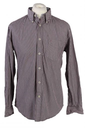 Tommy Hilfiger Shirt Long Sleeve Men 90s Multi M