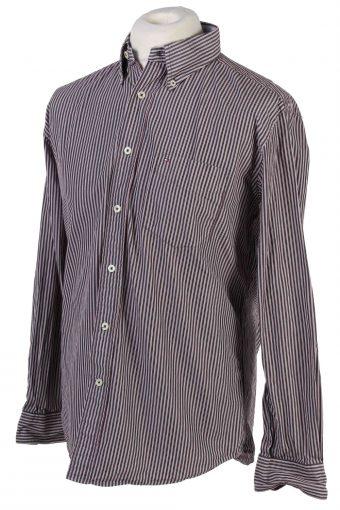 Tommy Hilfiger Long Sleeve Cotton Vintage Shirt M Multi - SH3701-109486