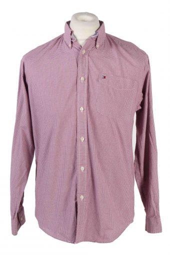 Tommy Hilfiger Shirt Long Sleeve Men 90s Multi XL