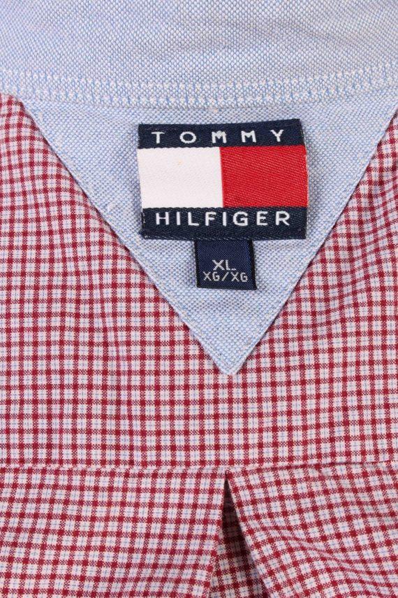 Tommy Hilfiger Long Sleeve Cotton Vintage Shirt M Blue - SH3702-109492