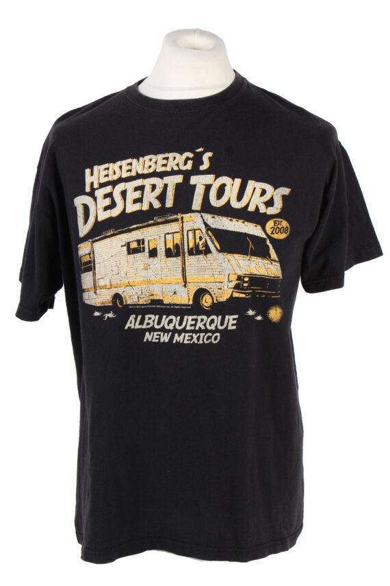 Vintage Nastrovie Denim Lost at Sea T-Shirt L Black TS347-0